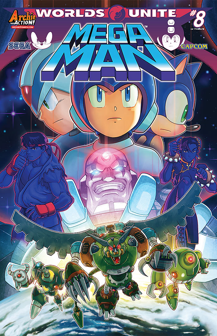Mega Man 51 cover