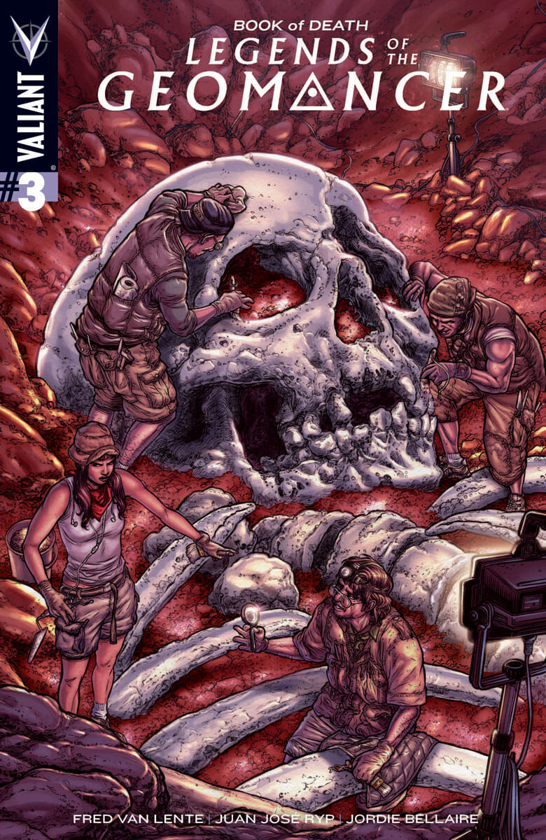 Book of Death: Legends of the Geomancer #3 (of 4)
