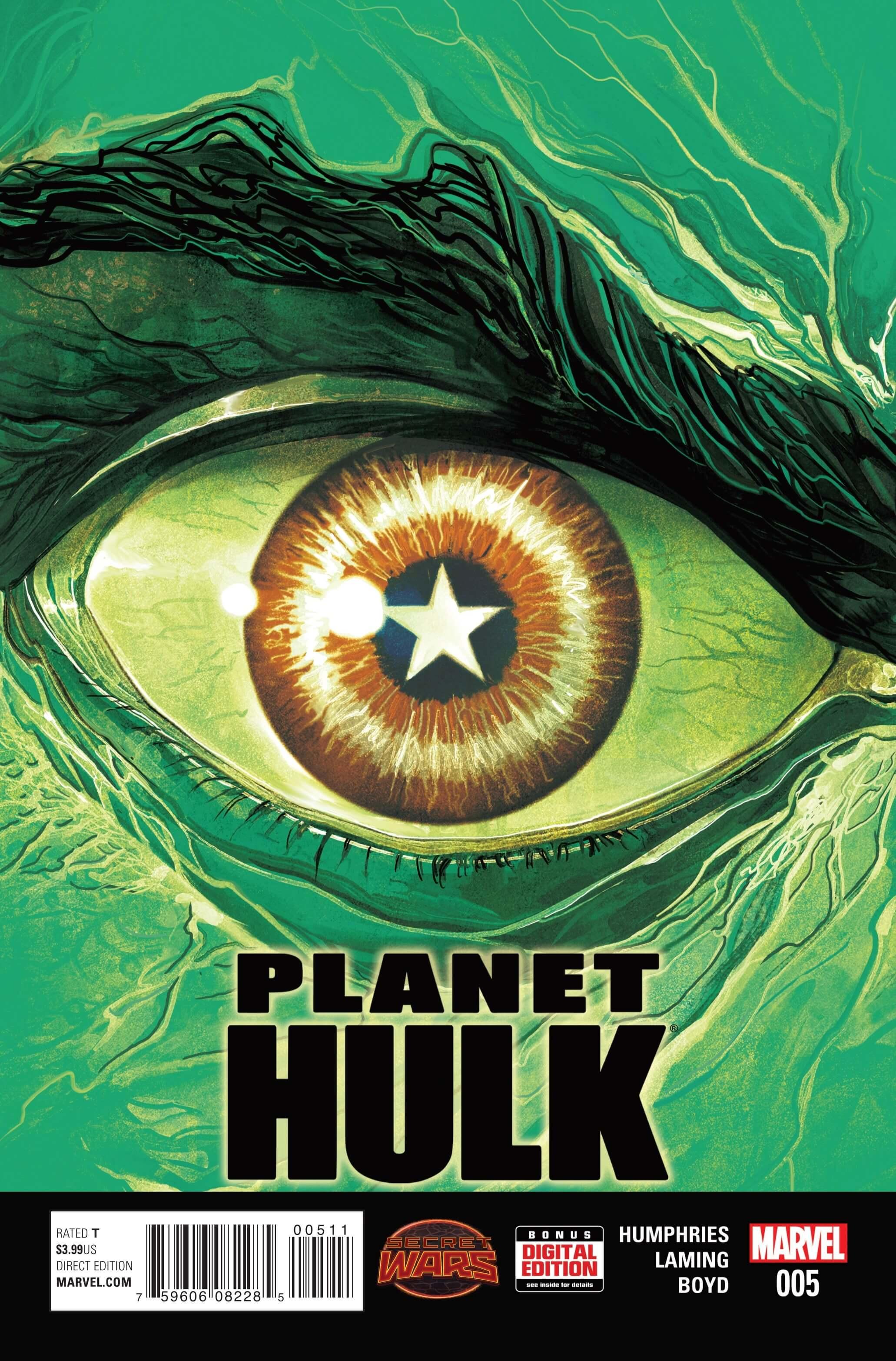 Planet Hulk #5cvr