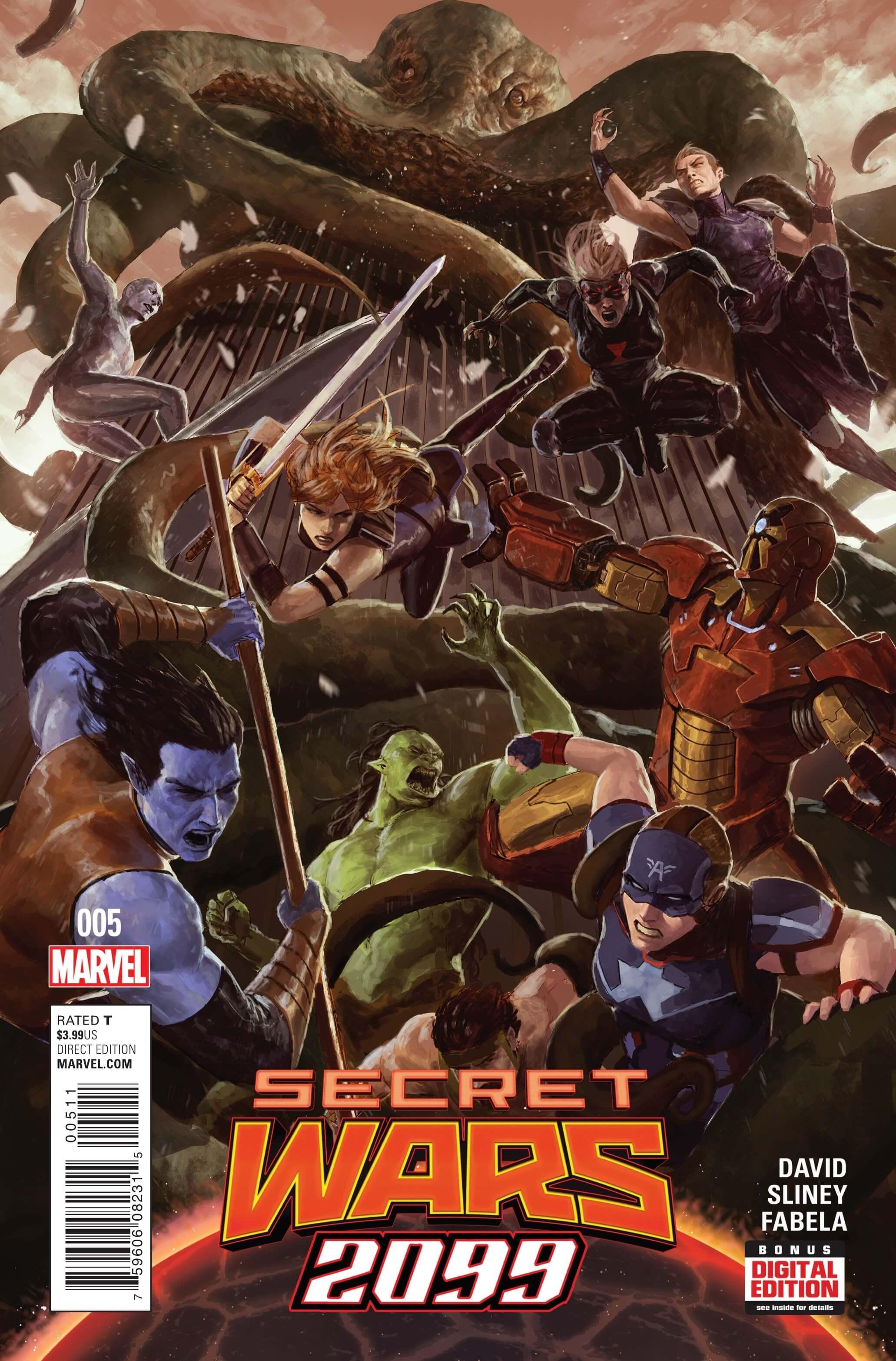 Secret Wars 2099 #5cvr