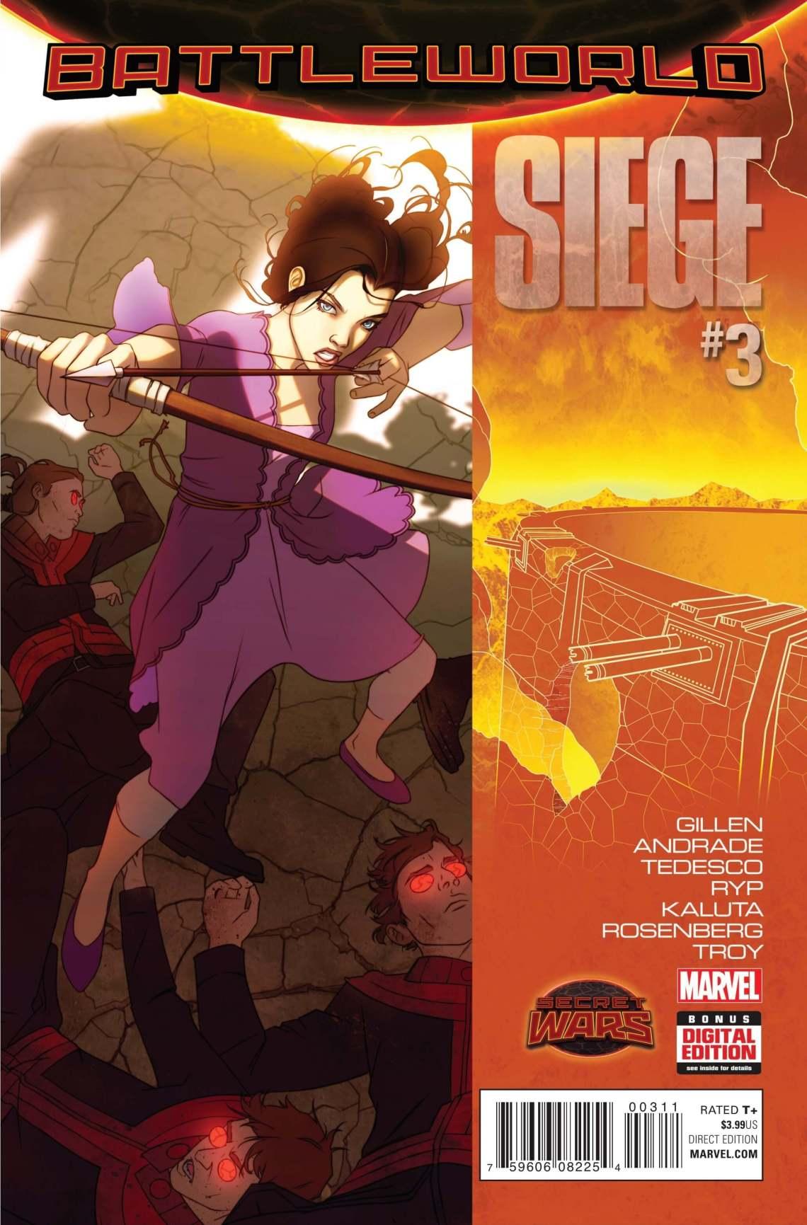 Siege #3cvrA
