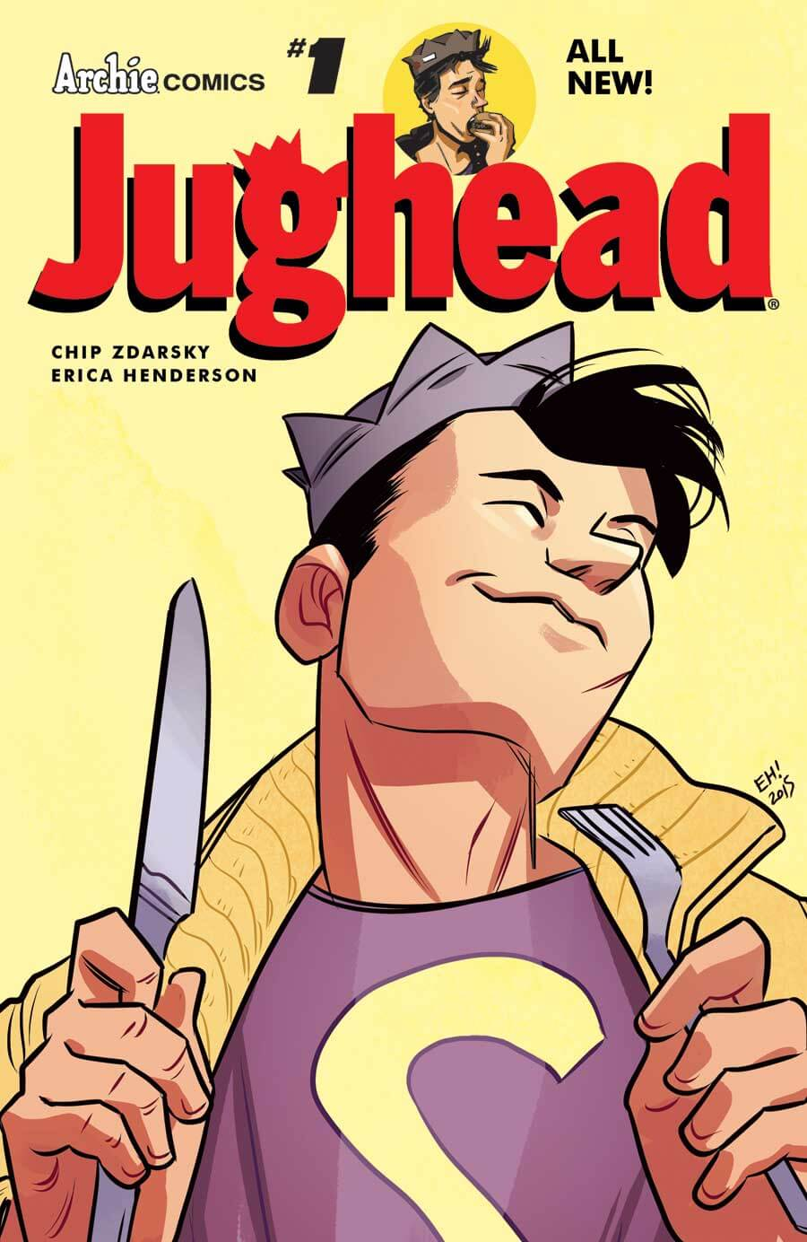 JUGHEAD #1 Cover by Erica Hendrson