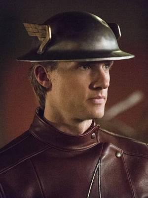 Jay Garrick makes his entrance to The Flash.