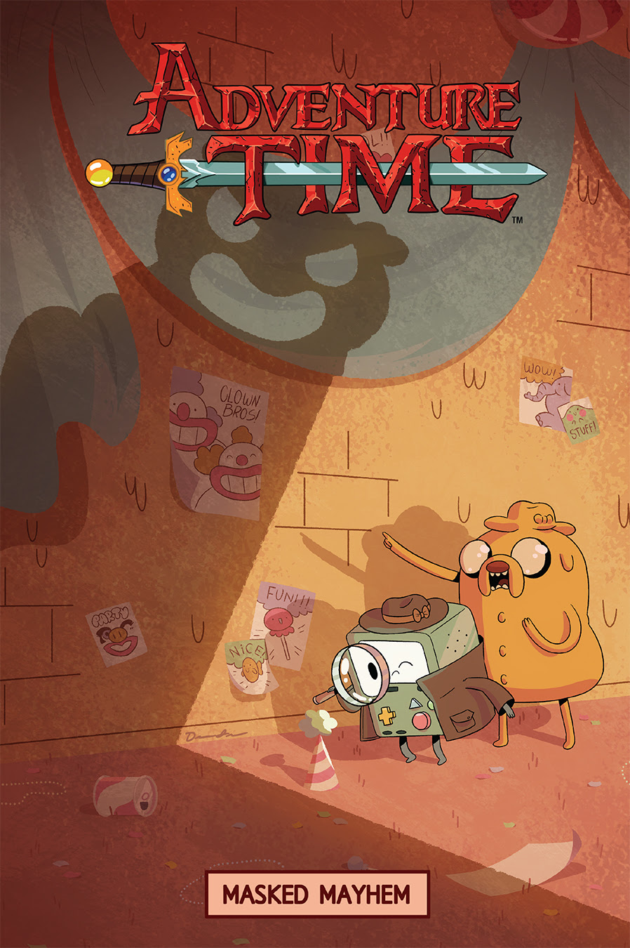 Adventure Time: Masked Mayhem Cover by Drew Green