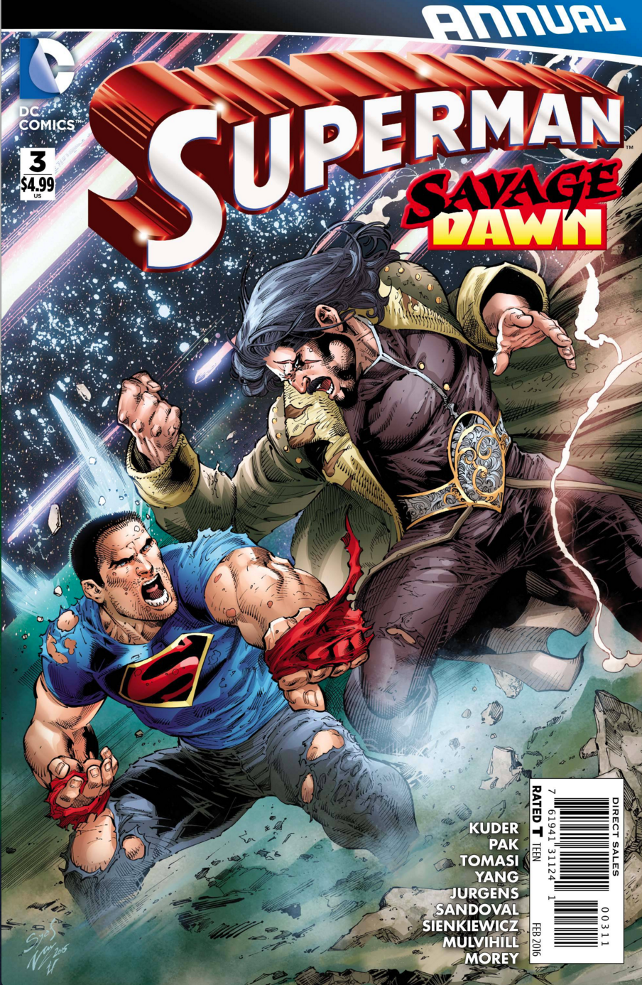 Superman Annual 3 cover