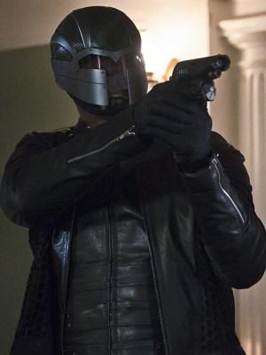 Yep, Still not a fan of Diggle's helmet.