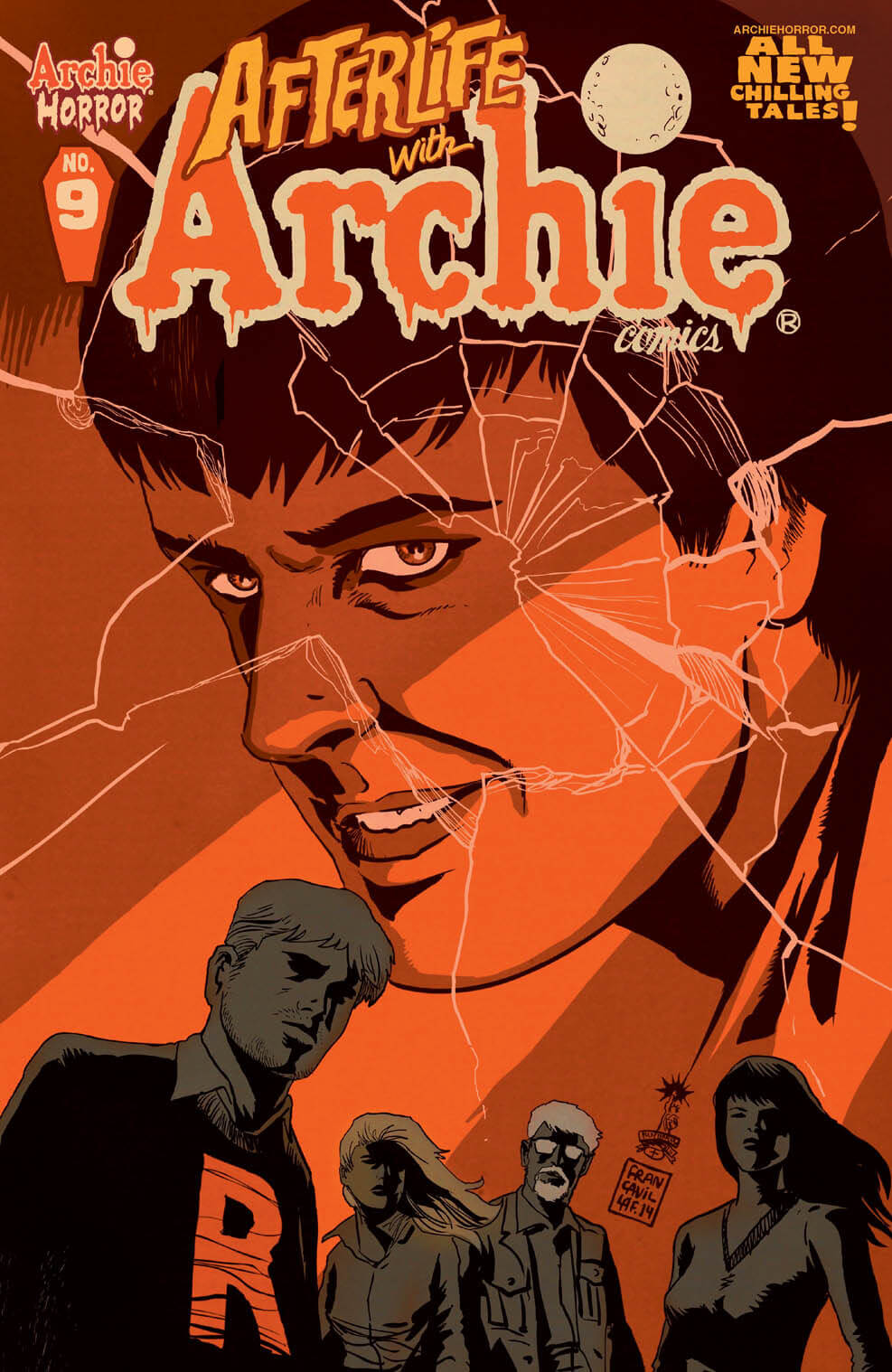 AFTERLIFE WITH ARCHIE #9 Cover by Francesco Francavilla - On Sale 6/1