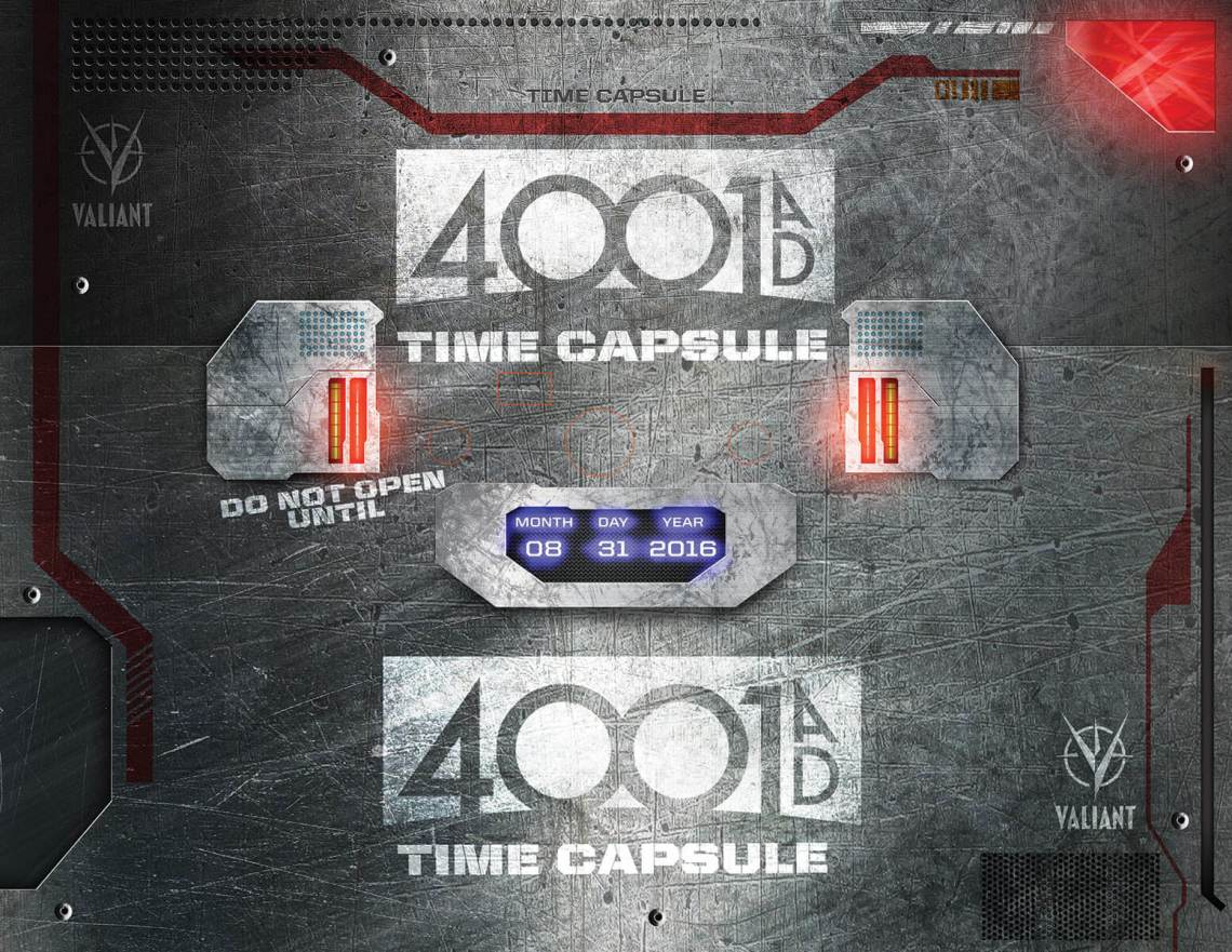 4001 A.D. Time Capsule