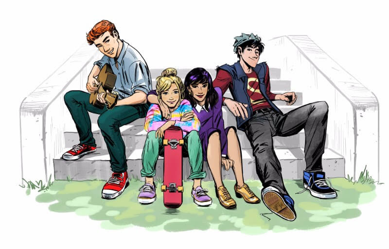 ARCHIE Promotional Art by Veronica Fish