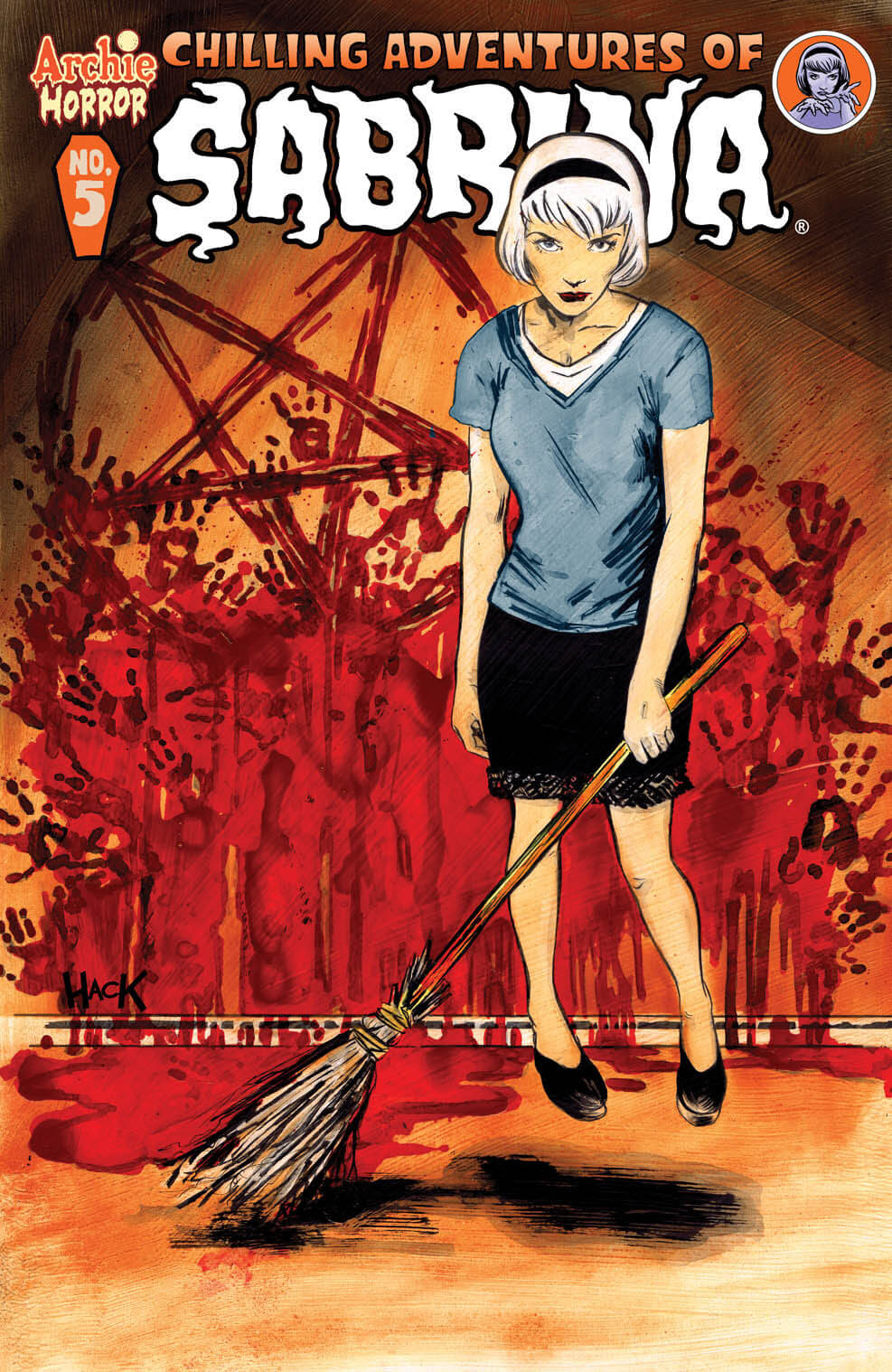 CHILLING ADVENTURES OF SABRINA #5 Cover by Robert Hack - On Sale 5/18