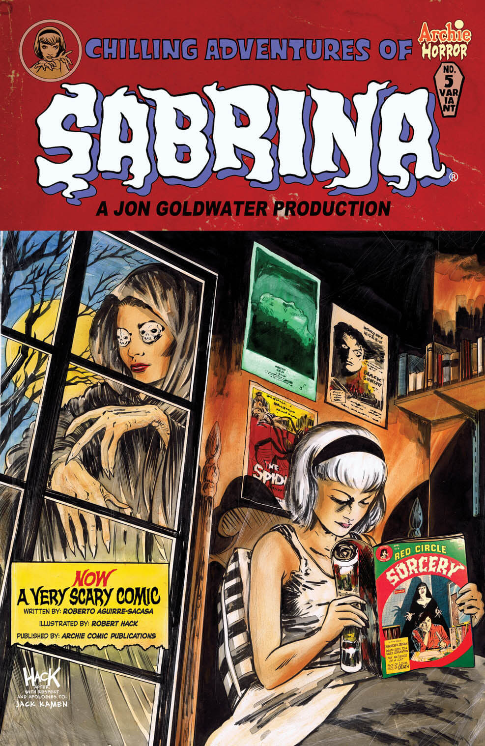 CHILLING ADVENTURES OF SABRINA #5 Variant Cover by Robert Hack - On Sale 5/18