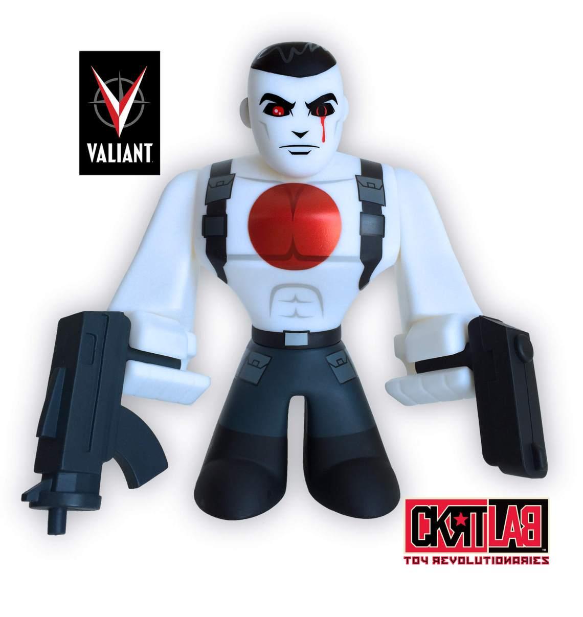 Bloodshot Urban Vinyl Figure SC Comicon Exclusive Variant