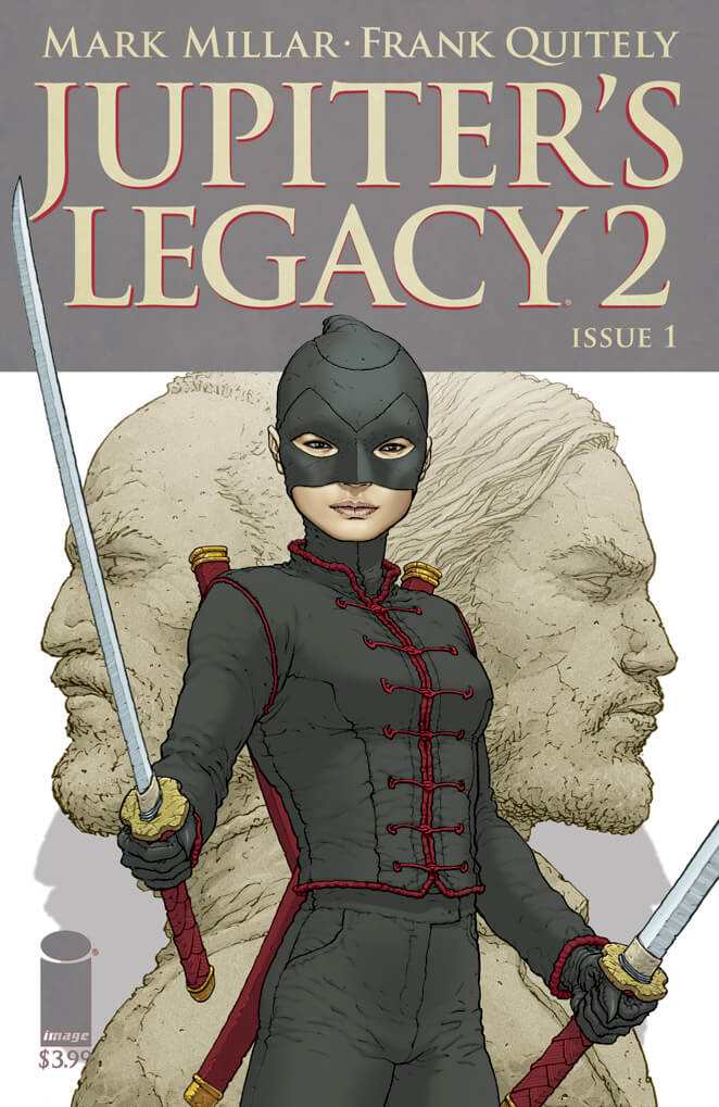 Main Cover by Frank Quitely