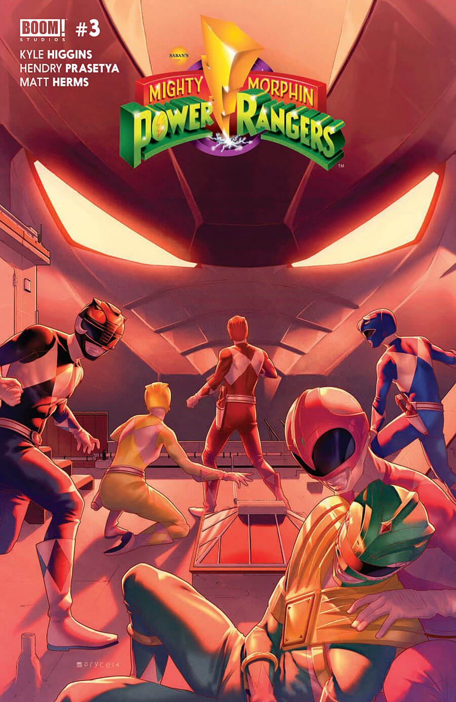 Power Rangers #3 cover