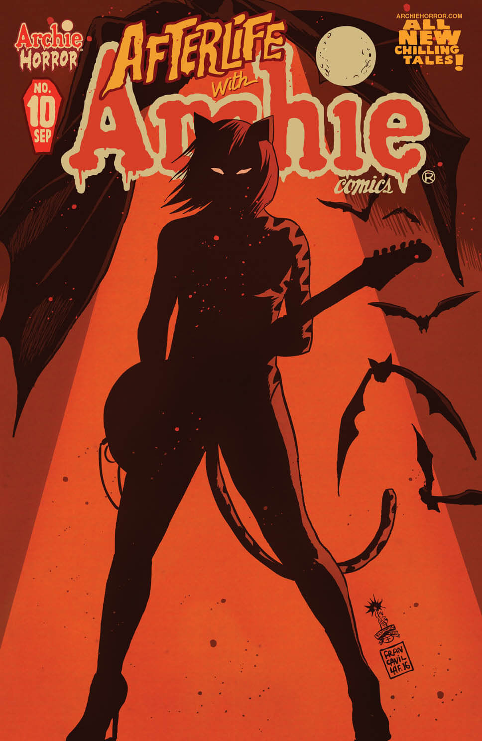 AFTERLIFE WITH ARCHIE #10 - Cover by Francesco Francavilla
