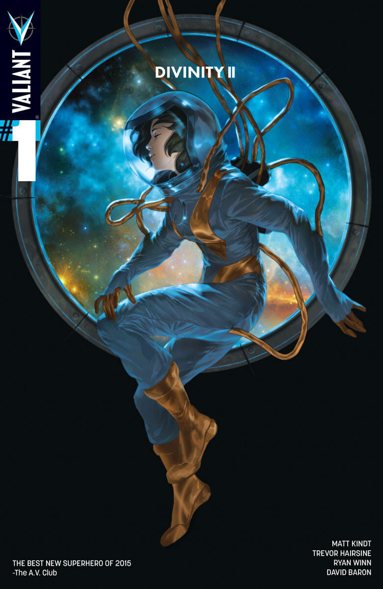DIVINITY II #1 (of 4) SECOND PRINTING – Cover by Jelena Kevic-Djurdjevic
