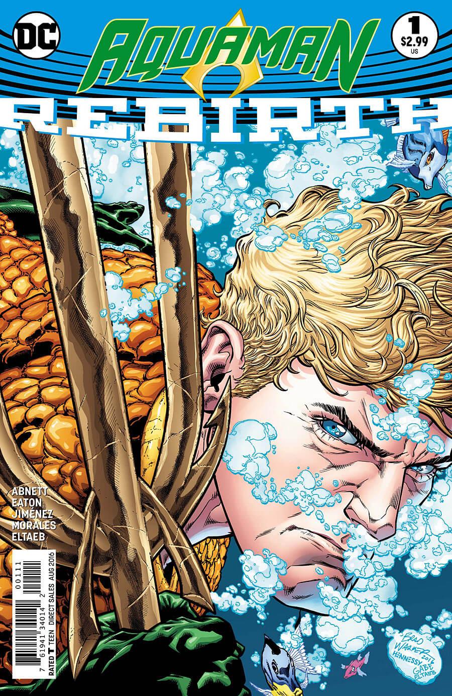 Aquaman Rebirth Cover