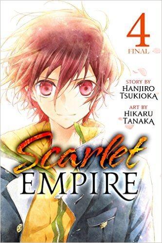 Scarlet Empire v 4 cover