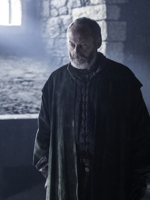 Davos pledges his allegiance to the new King of the North