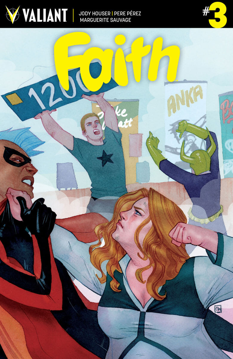 FAITH #3 – Cover A by Kevin Wada