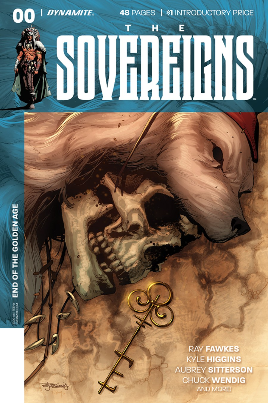 Sovereigns #0 cover