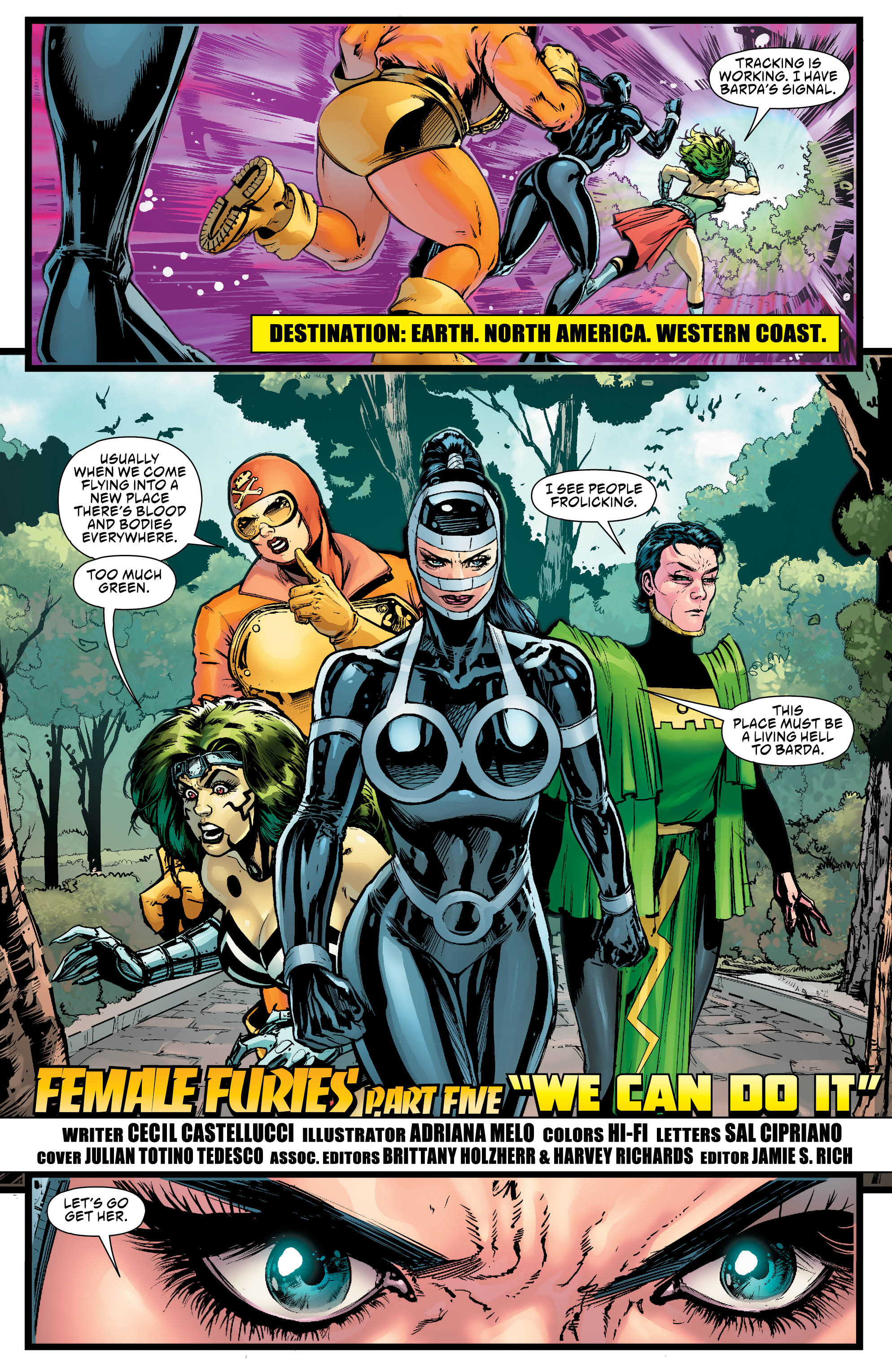 Female Furies #5