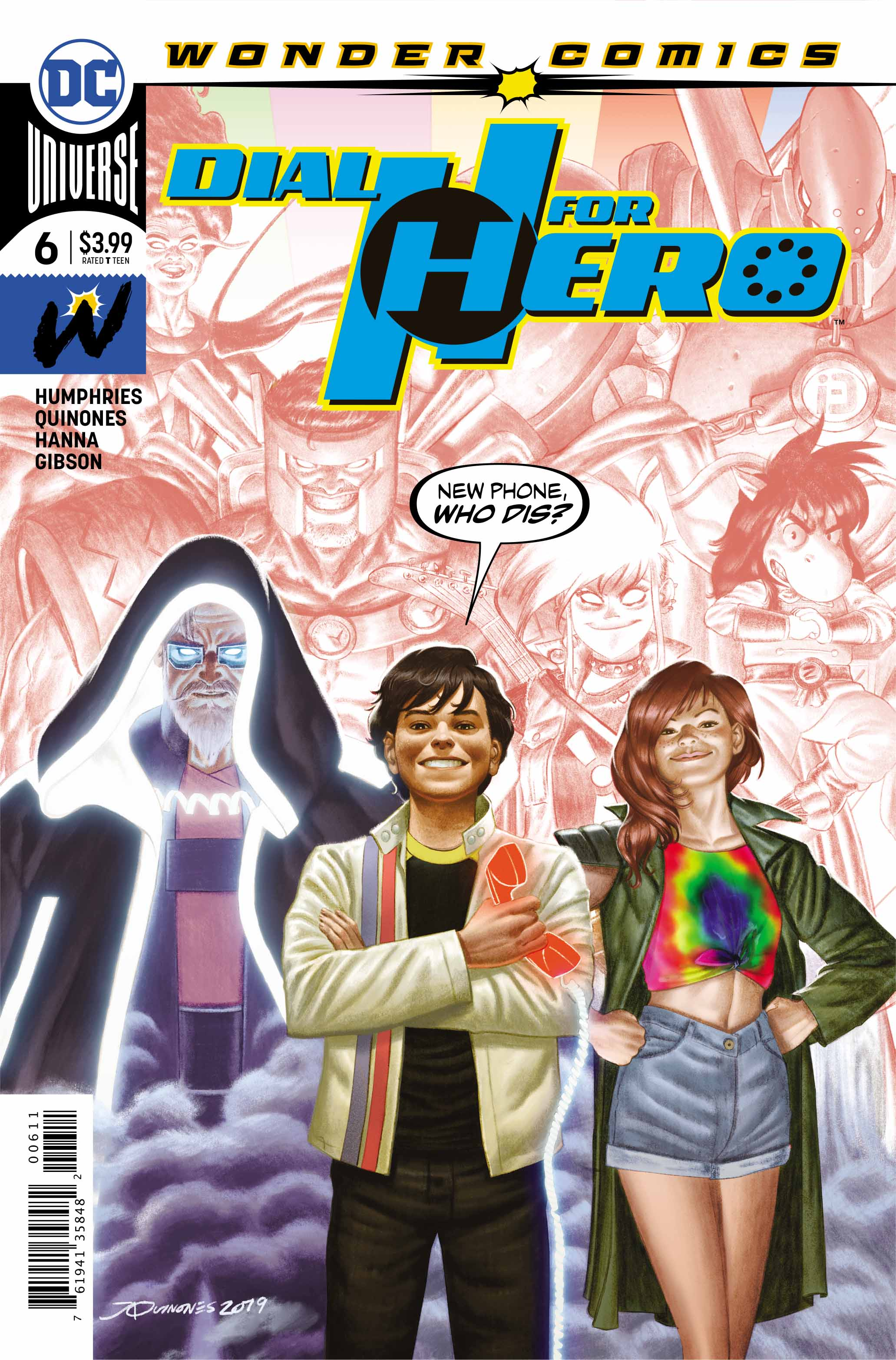 dial h for hero #6