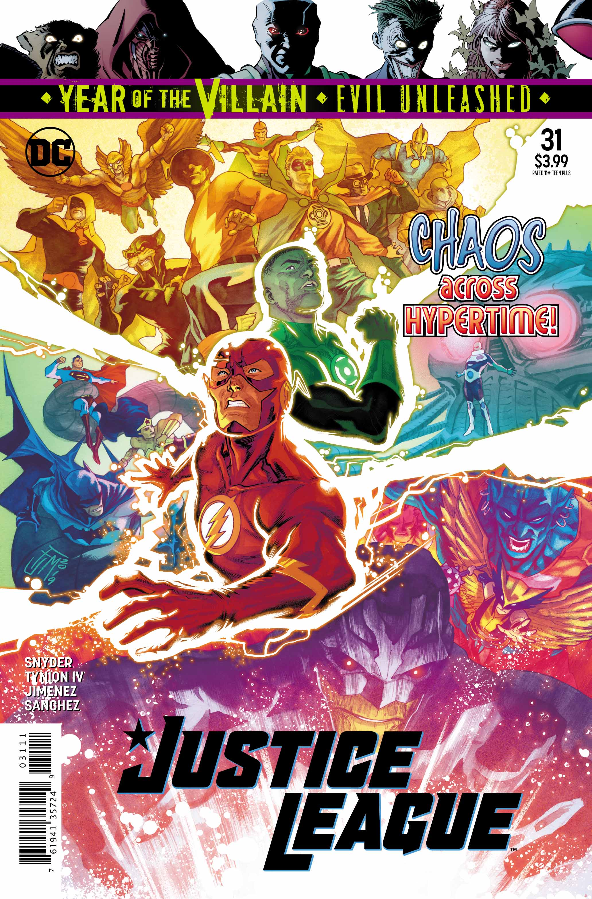 justice league #31