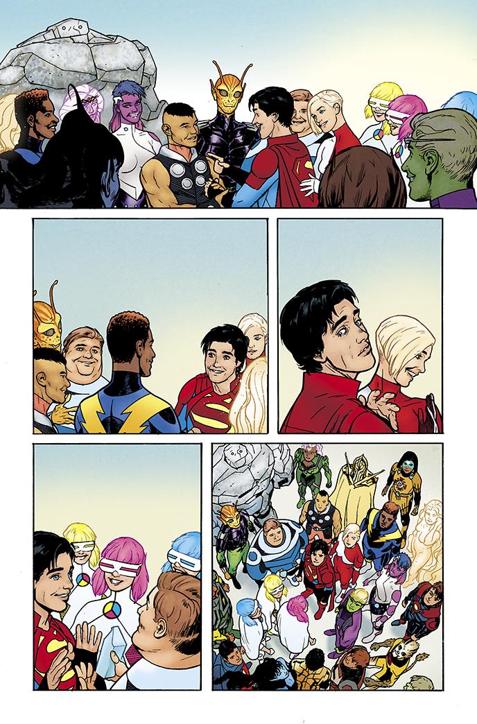 legion of super-heroes #1