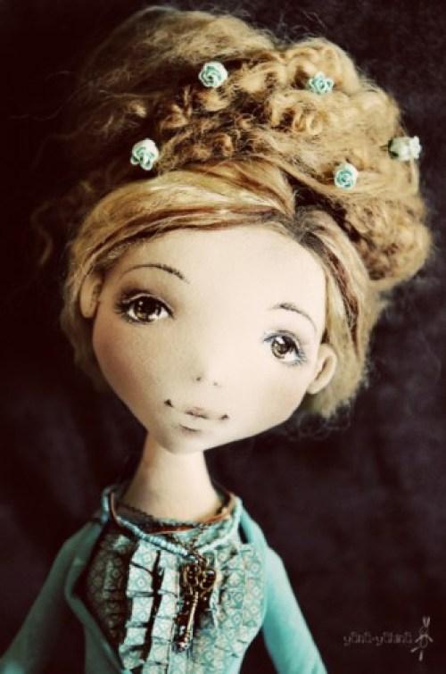 Текстильная кукла Полин Яны Яхиной