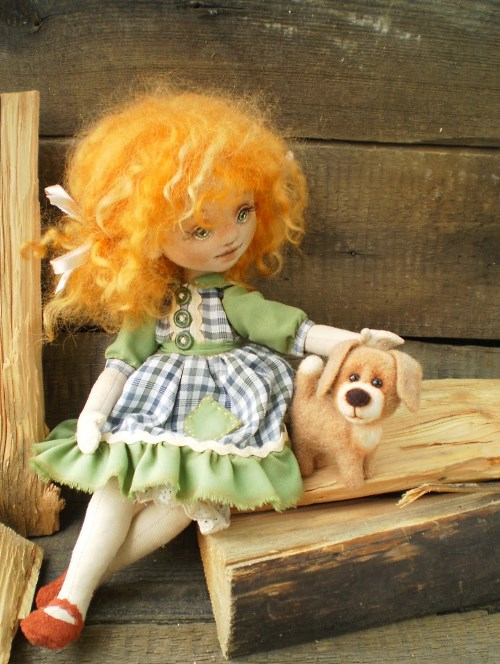 Кукла Рыженькая