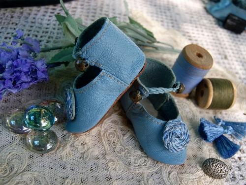 Кожаная обувь для кукол