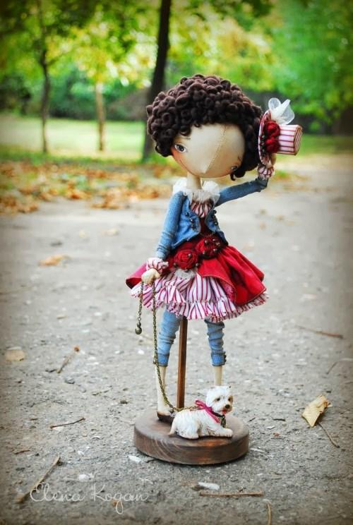 Елена Коган. Кукла Адель
