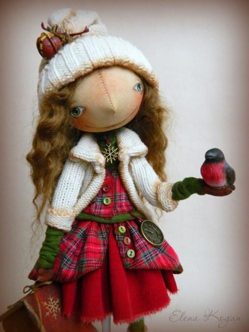 Елена Коган. Кукла Декабринка
