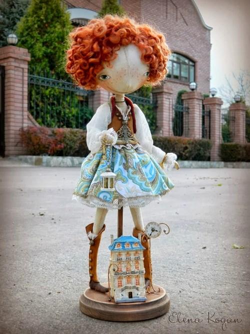 Елена Коган. Кукла Julie (Жюли)