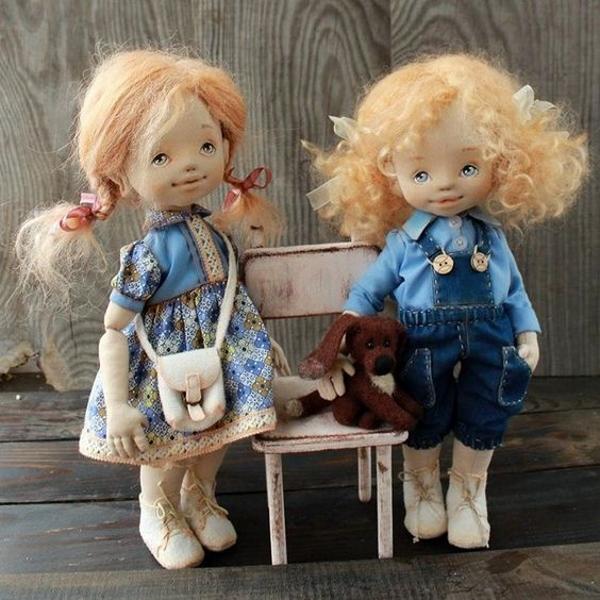 Куклы выкройки Ирины Хочиной
