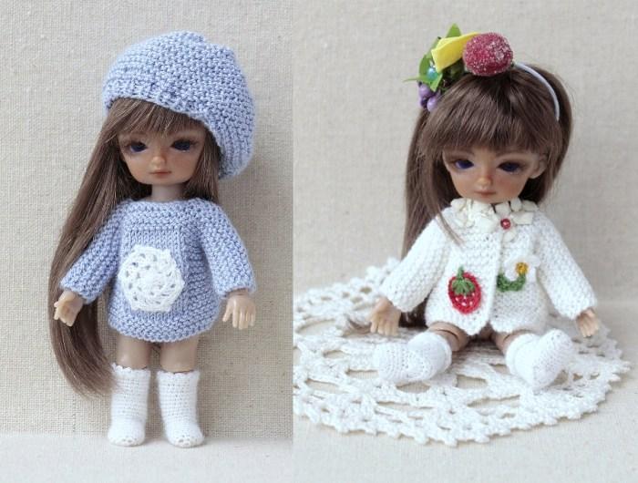 Оригинальная миниатюрная одежда для кукол