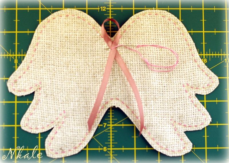 сделать крылья кукле