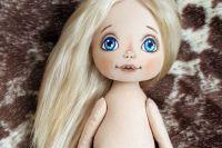 МК: шьем текстильную куклу