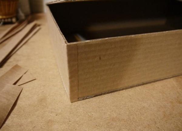 делаем коробку для кукол