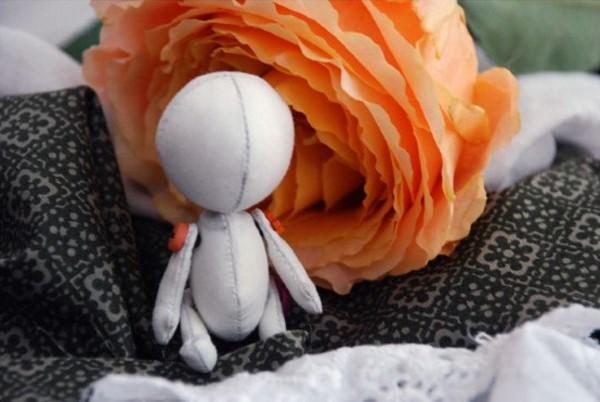ткань для маленькой куколки