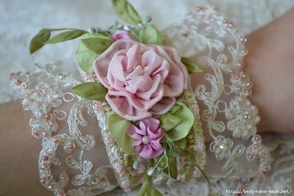 винтажный браслет handmade