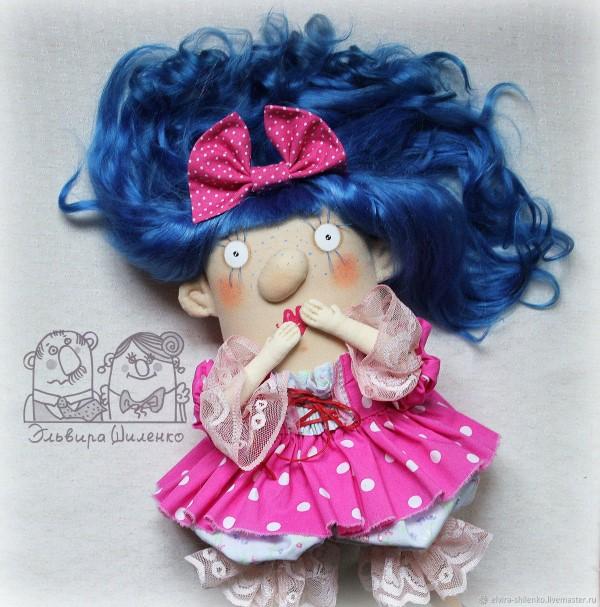 куклы Эльвиры Шиленко