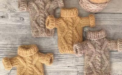МК: уютный свитер для куклы