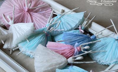 МК: балерины из бумаги от Маши Медведевой