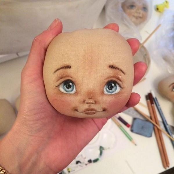 примеры росписи кукольных лиц