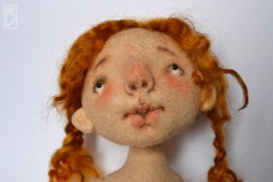 МК: Кукла из фетра от Светланы Фадеевой