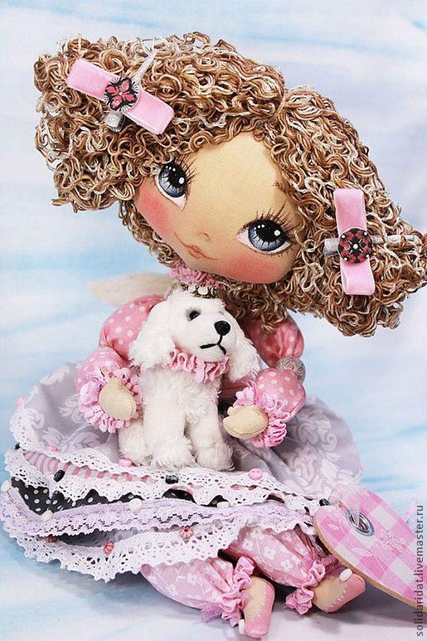 Татьяна Иванова куклы
