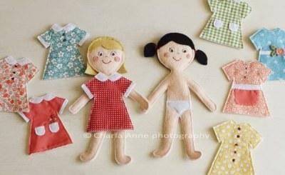 Фетровые куклы для малышей