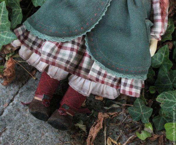 туфли для интерьерной куклы